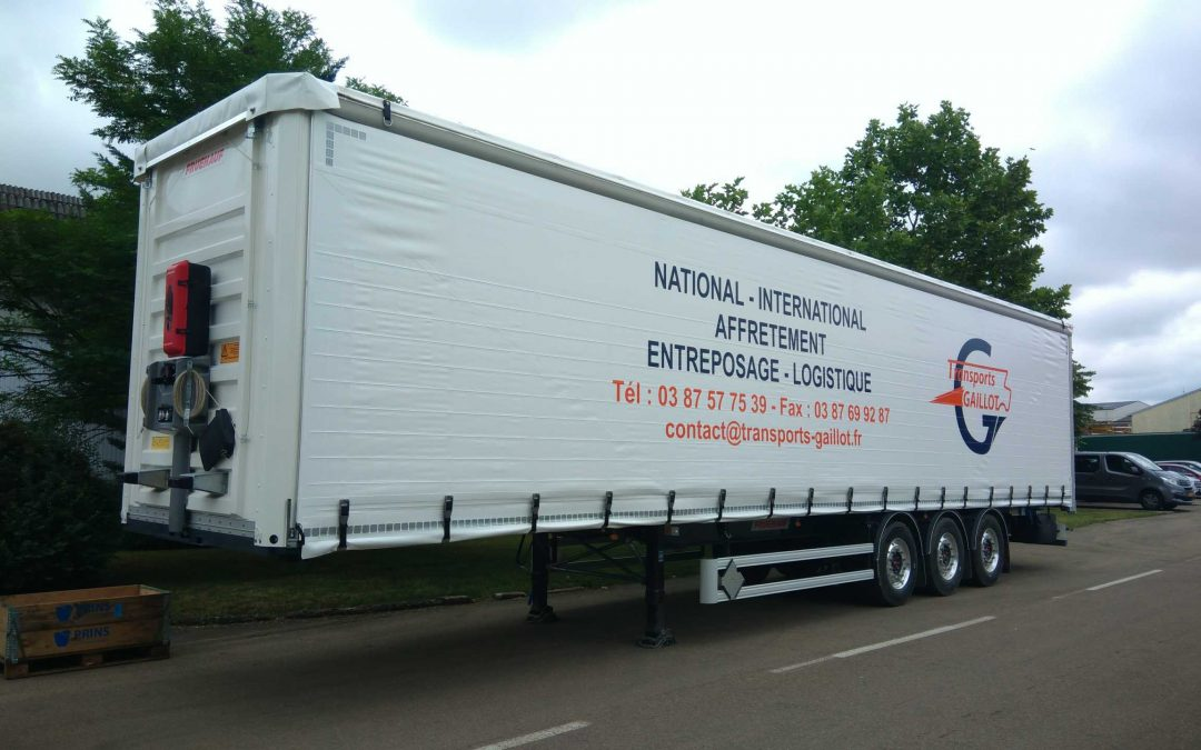 Purchase of 9 Tautliner semi-trailers
